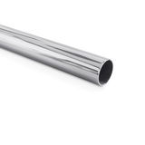 EXHAUST MIRROR PIPE STRAIGHT TUBE STAINLESS STEEL (316) 1 3/4""